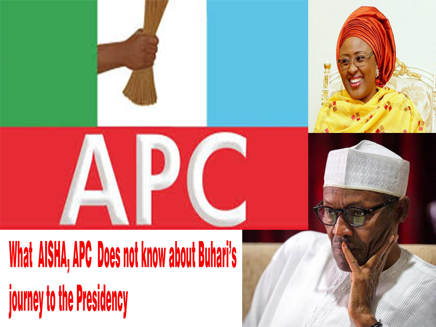 Buhari's Journey To The Villa And Lessons From Donald Trump Election Victory