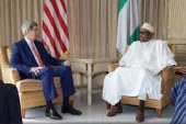 Anti Corruption war…Corruption is fighting back…Buhari tell Kerry