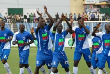 Rangers, Rivers United advance, Wikki out