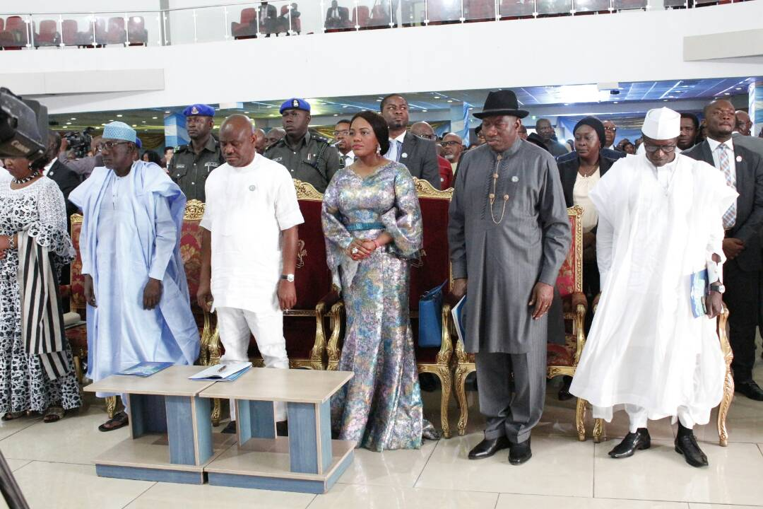 Governor Wike is working hard to develop  Rivers State ---Jonathan