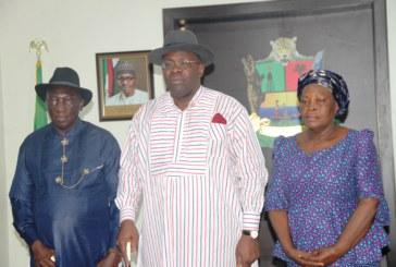 Gov. Dickson inaugurates SUBEB members, warns parents against irresponsible behaviour