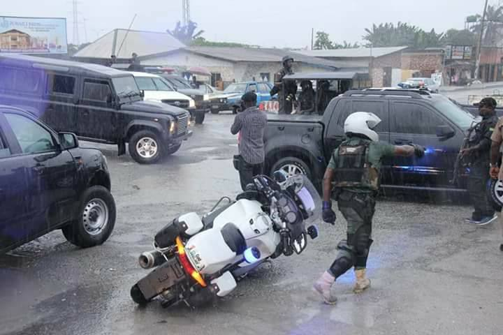 POLICE PRESS BRIEFING ALLEGED ASSASSINATION ATTEMPT ON THE LIFE OF GOV. NYESOM E.WIKE