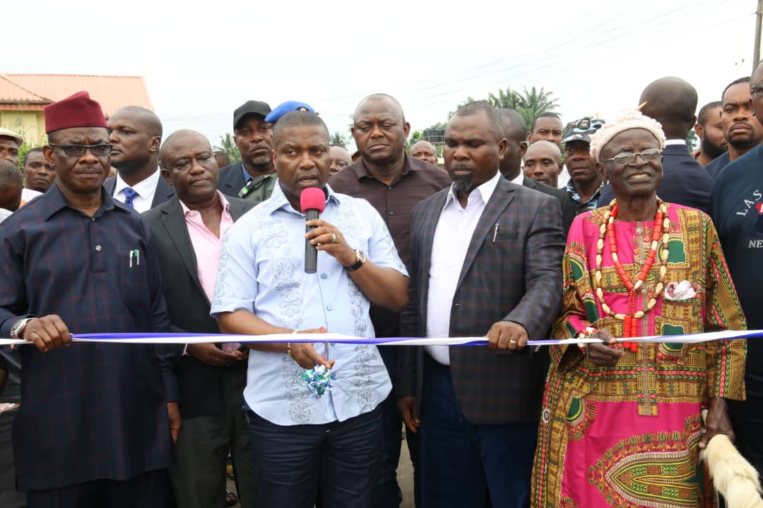 *NDDC Commissions Oku Iboku Roads, Inspects UNIUYO Projects*