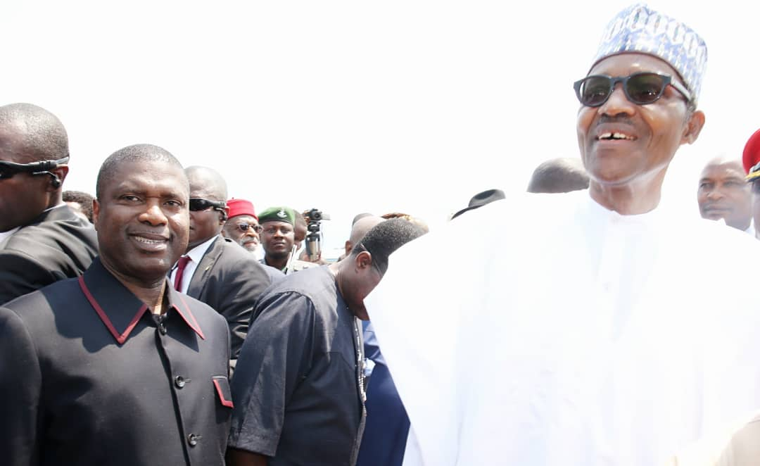 NDDC Boss Receives Buhari in PH