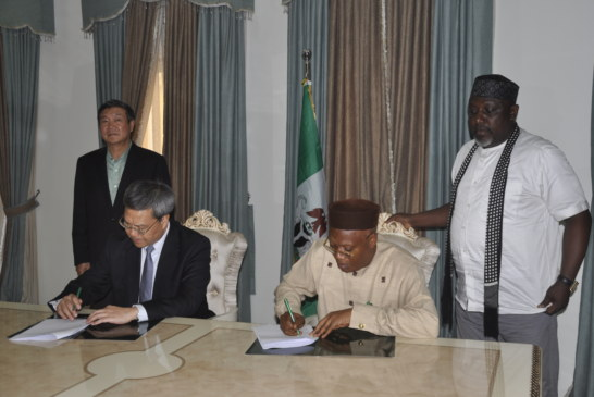 GOVERNMENT OF IMO STATE  PRESS RELEASE  SUBJECT: IMO STATE GOVERNMENT SIGNS MoU WITH A CHINESE COMPANY ON POWER GENERATION  -AS GOVERNOR OKOROCH ASSURES THE COMPANY OF EVERY ASSISTANCE