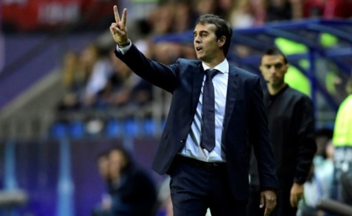 Madrid sack coach Lopetegui