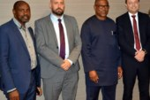 Vice Presidential candidate of the Peoples Democratic Party, Mr. Peter Obi on Wednesday in Abuja met with delegations from European Union (EU) and World Economic Forum (WEF)