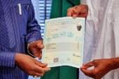 Photos Of President Buhari Receiving His WAEC Certificate