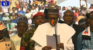 President Buhari challenges doubters of his achievements   ...says unemployment a main problem