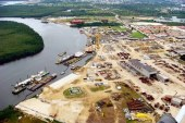 NPA Commences Cleanup Of Oil Spill in  Onne Port Channel