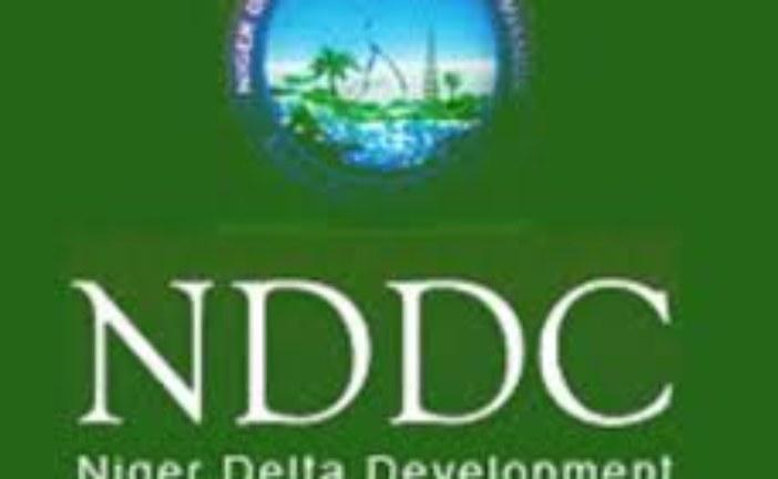 NDDC  commission Road in Bayelsa
