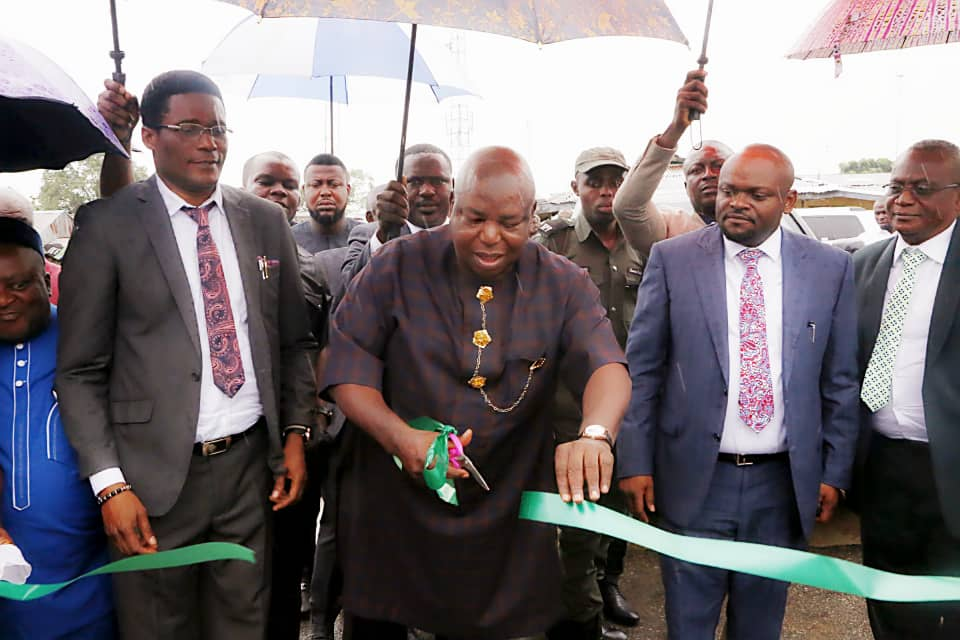 NDDC Commissions Township Road in Cross River