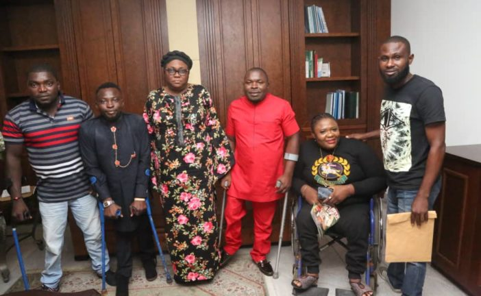 NDDC Reassures People with Disabilities on Empowerment Schemes