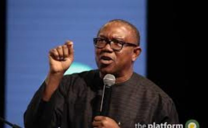 Vice-Presidential Candidate of the Peoples Democratic Party (PDP), in 2019 Presidential election, Mr. Peter Obi, has called for the improvement in infrastructure in the country to reduce the suffering of Nigerians even when it is totally avoidable.