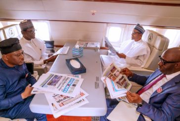 PRESIDENT BUHARI DEPARTS ABUJA FOR PEACE AND DEVELOPMENT FORUM IN EGYPT