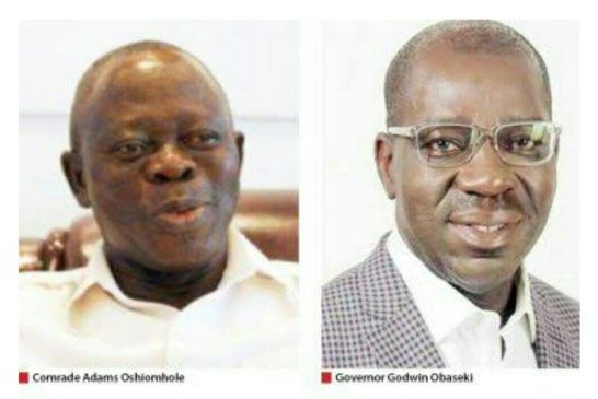 Hospital probe: Obaseki set to send Oshiomole to prison, to recover stolen money