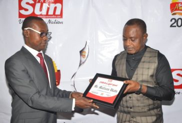 *SIR MALLINSON AFAM* *UKATU:*  *SUN INDUSTRIALIST/ ENTREPRENEUR OF THE YEAR,* *AN HONOUR WELL DESERVED*