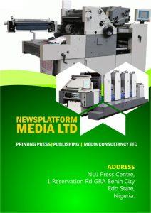 News Platform Printing Press