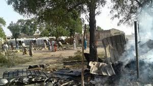 236 people died in the Borno Air force  bombing…..Presidency