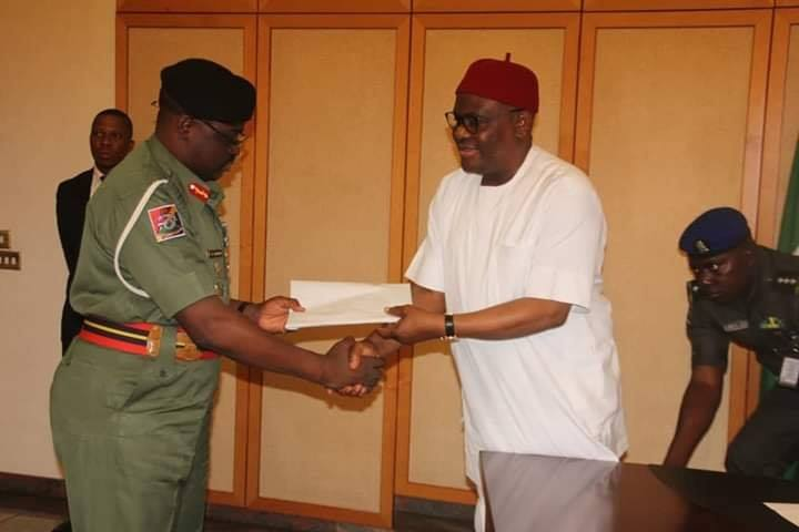 GOVERNOR WIKE TO ARMY INVESTIGATIVE COMMITTEE : 2019 ARMY ELECTIONS INTERFERENCE , THE WORST IN NATION'S HISTORY