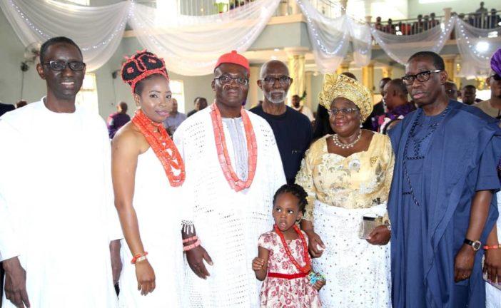 Okowa, Ihedioha, Ribadu others grace memorial service of Okonjo Iweala's father.
